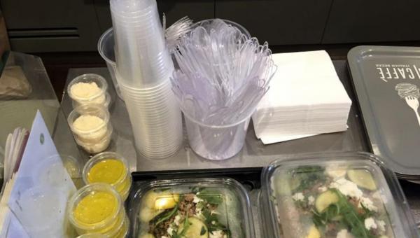 ပြင်သစ်နိုင်ငံတွင် အစားအသောက်တွင် အသုံးပြုသည့် ခွက်များ၊ ပန်းကန်ပြားများနှင့် အခြားသော အသုံးအဆောင် ပစ္စည်းများတွင် ပလပ်စတစ်ဖြင့် ပြုလုပ်သော ပစ္စည်းများ အသုံးမပြုရန် တားမြစ်
