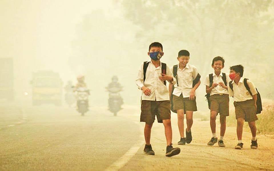 ၂ဝ၁၆ ခုနှစ်တွင် လေထုညစ်ညမ်းမှုကြောင့် ကလေးငယ်ခြောက်သိန်းခန့် သေဆုံးခဲ့
