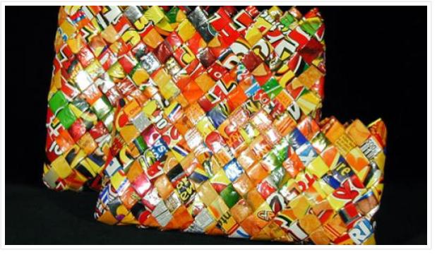 ကော်ဖီမစ် အိတ်ခွံတွေနဲ့ Recycle အိတ်လှလှလေး ပြုလုပ်နည်း
